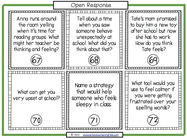 Zones of RegulationEmotional Regulation Activities The School – Emotion Regulation Worksheet